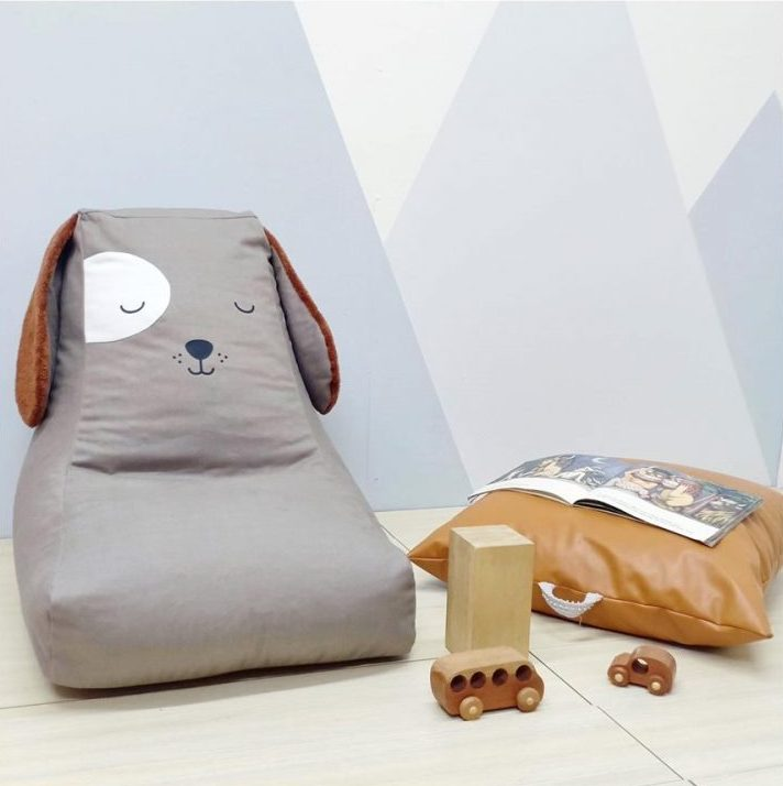 Admirable Puppy Lounger Bean Bag Chair Customarchery Wood Chair Design Ideas Customarcherynet